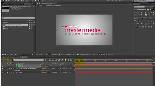 Tutorial Afeter Effects Escuela Mastermedia