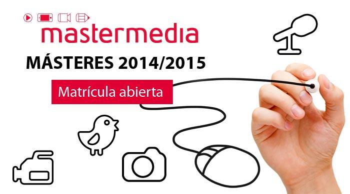 Escuela Mastermedia | Másteres matrícula abierta