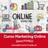 Curso Marketing Online para PYMEs en Escuela Mastermedia Valencia.